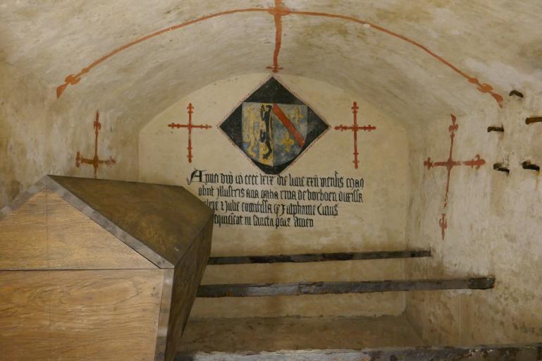 Stevenskerk grafkelder van Catherina van Bourbon - Stevenskerk